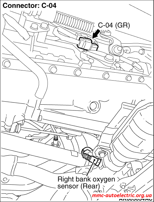 code no  p0137  right bank oxygen sensor  rear  circuit